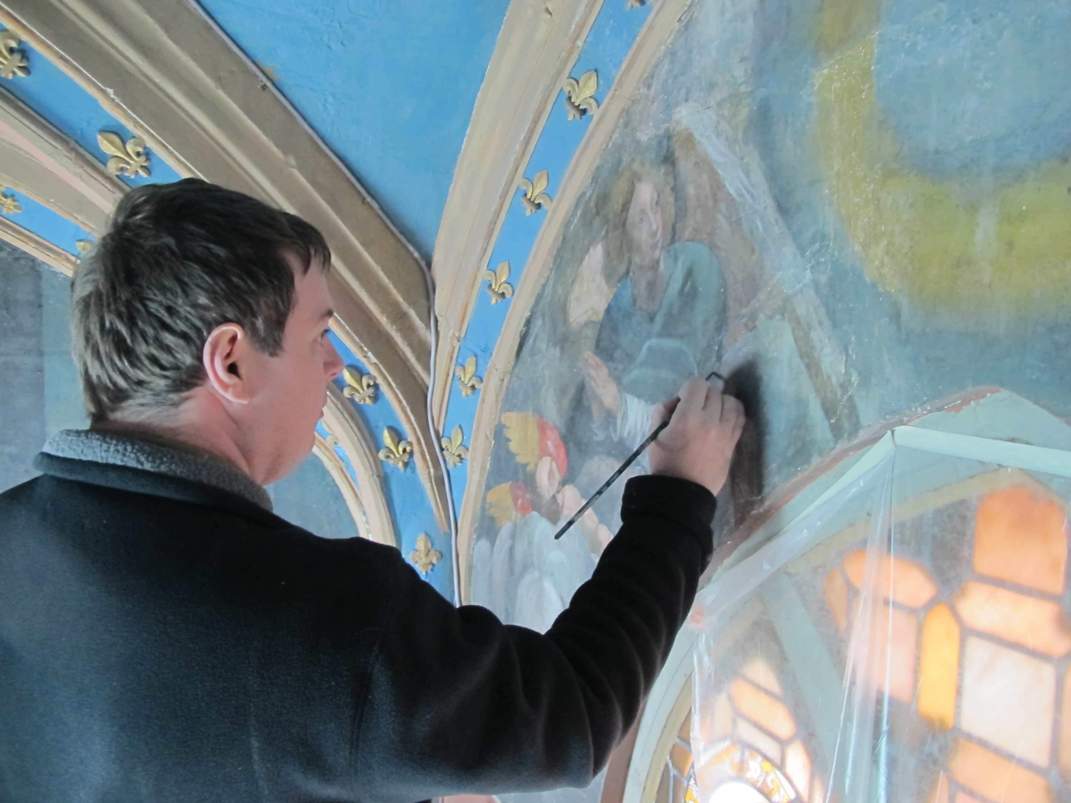 restauration conservation peinture murale