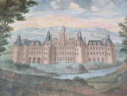 Château de Gizeux, la galerie des châteaux royaux